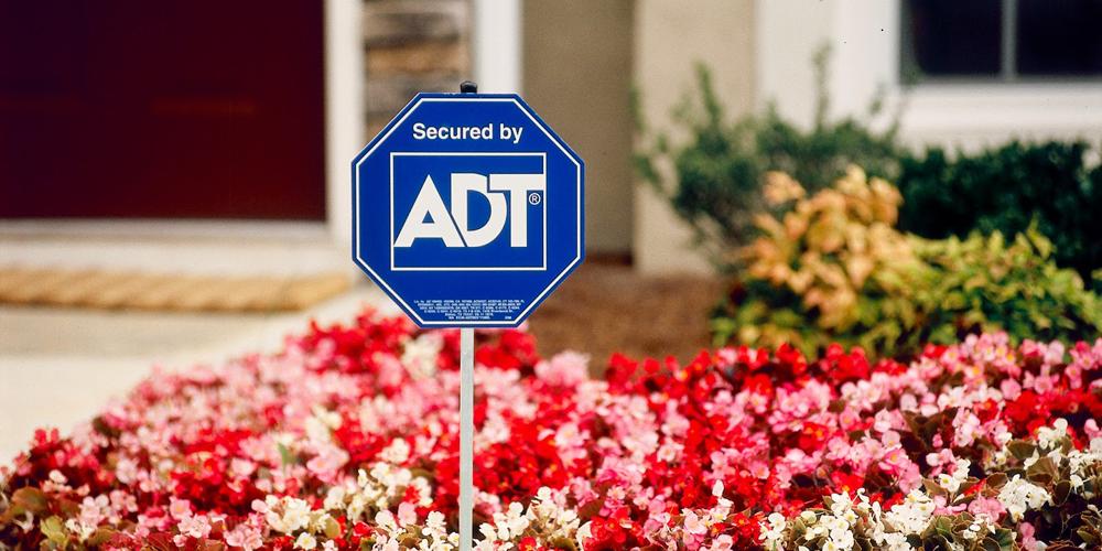 ADT Yard Sign