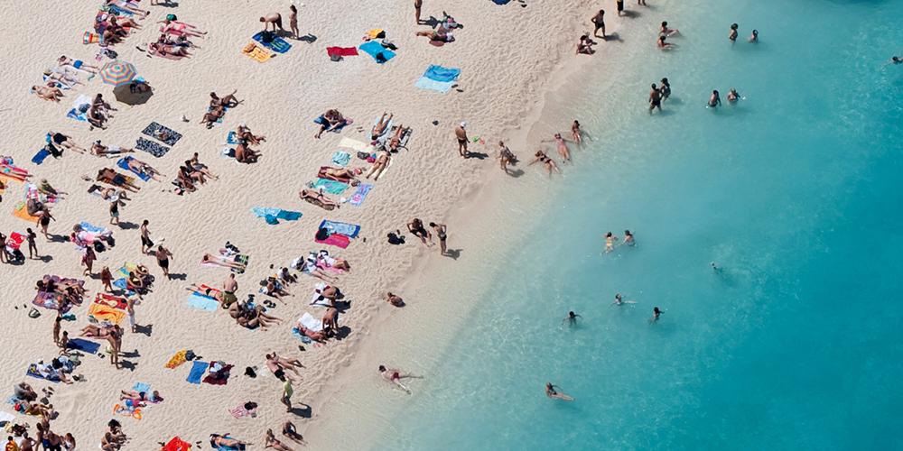 beach-aerial