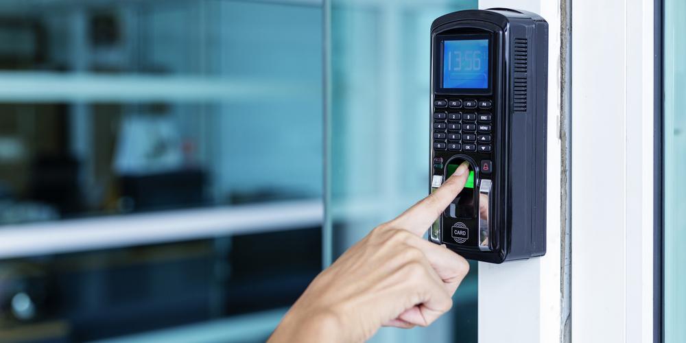 Biometric Keypad Door Lock