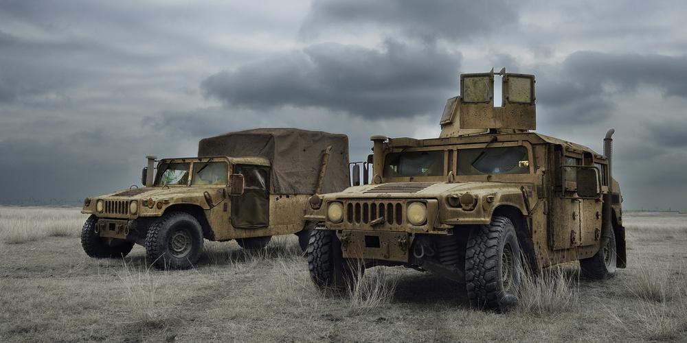 Bulletproof Hummer