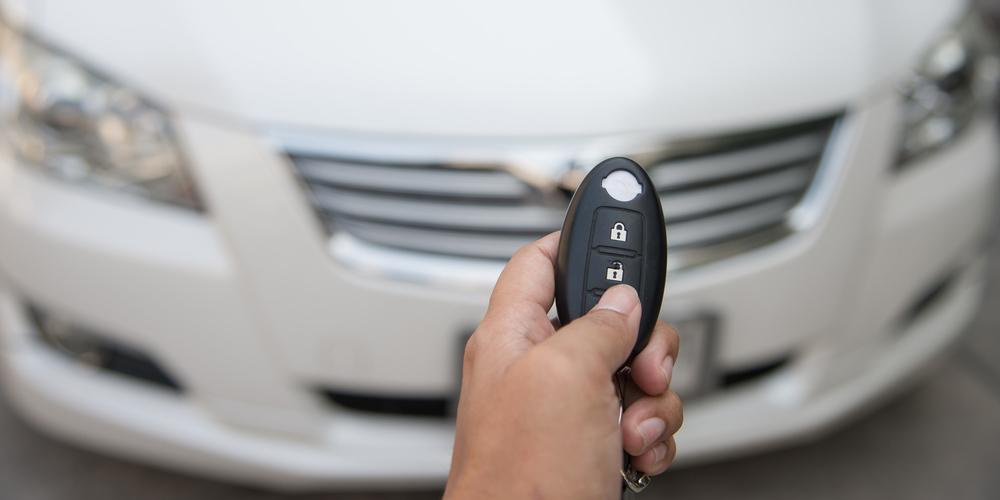 Car Key Fob And Car
