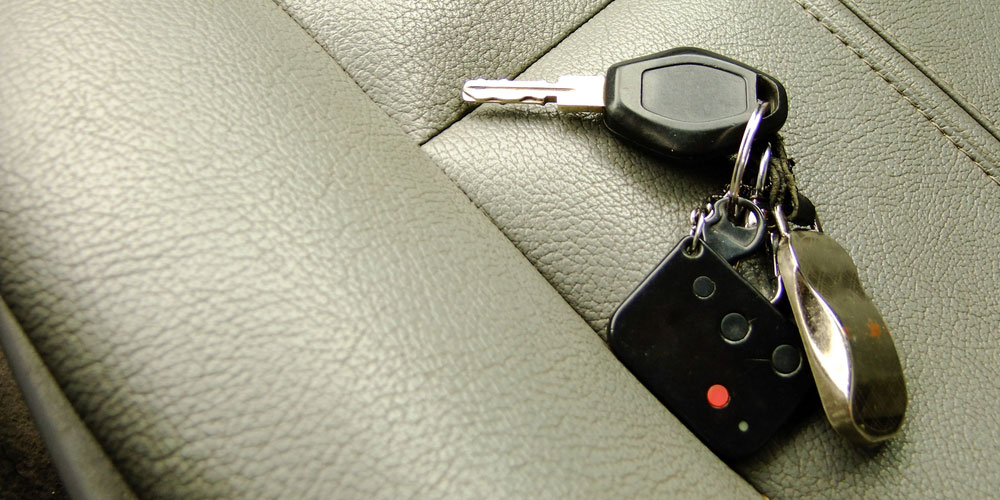 Car Keys Left On Seat