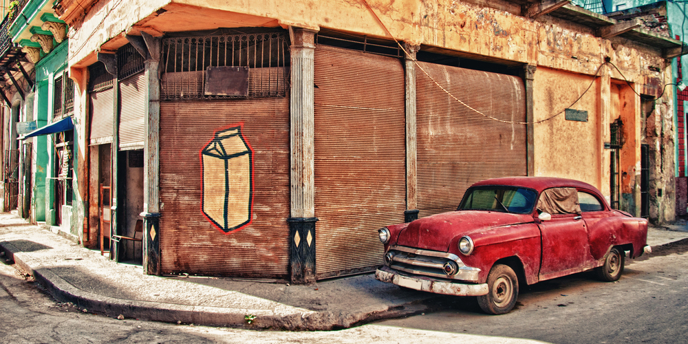 Classic Car Parked