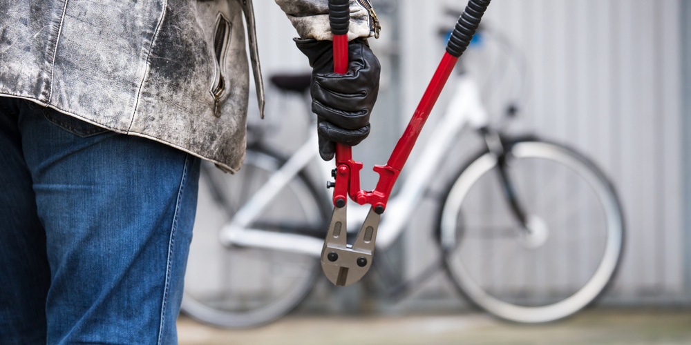 Cutting Bike Lock