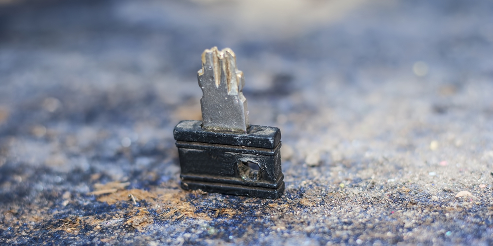 Broken Car Key