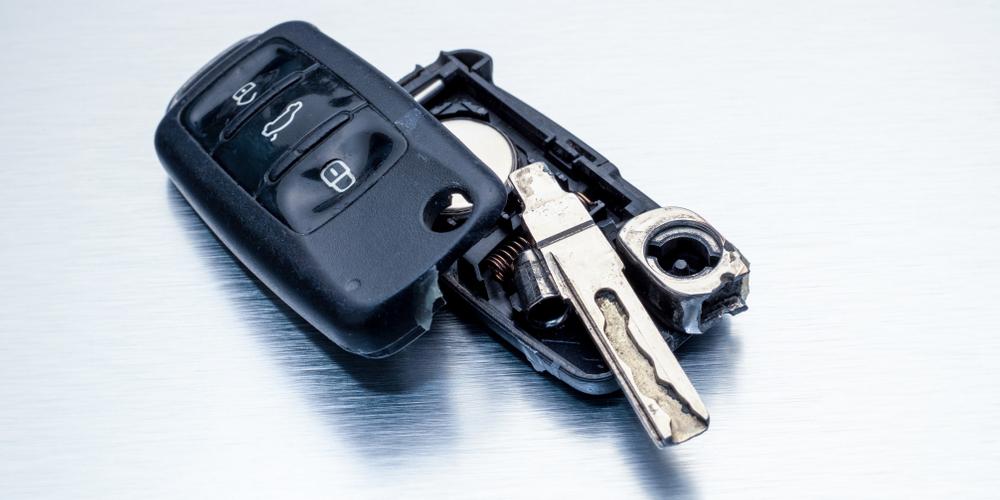 Broken Car Key Remote