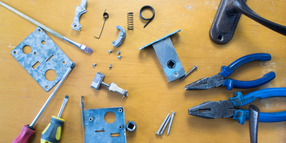 Deconstructed Mortise Lock