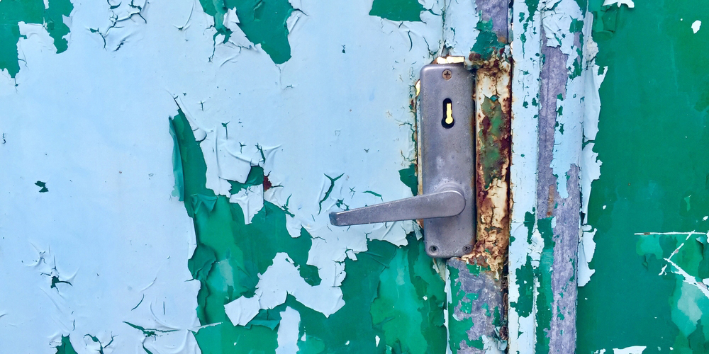 Rusted Door Lock