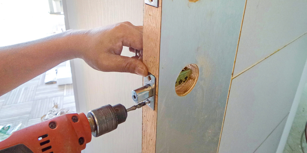 Front Door Lock Installation