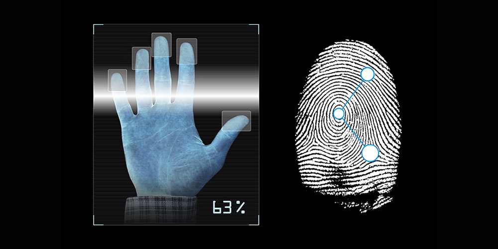 hand-and-finger-scan