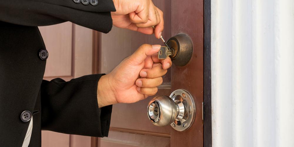 Jammed Key in Lock