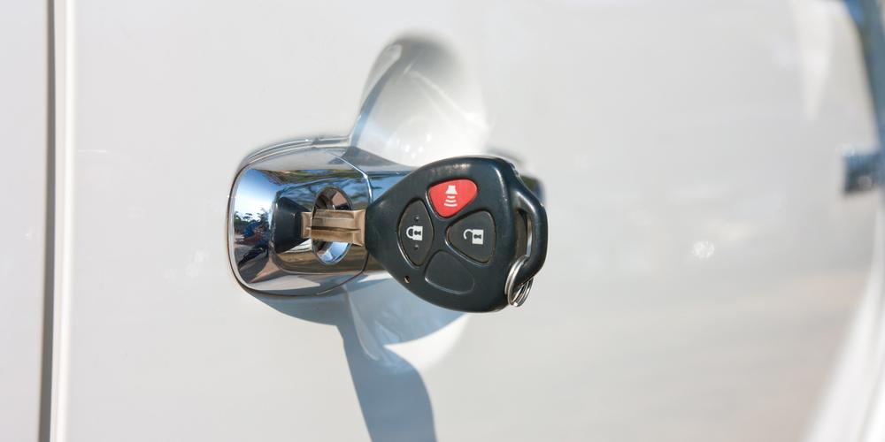 Key In Car Lock