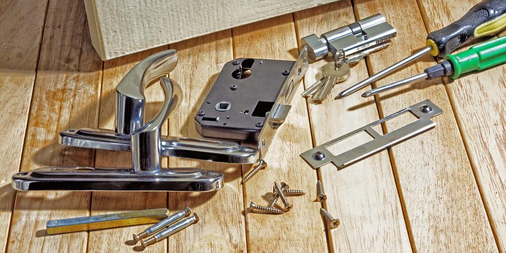 Lock Parts By Door