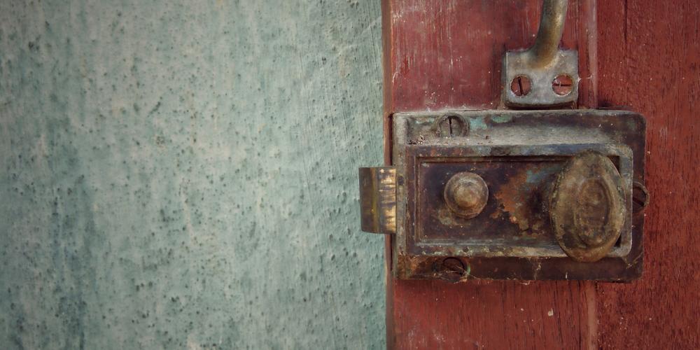 Old Rim Lock