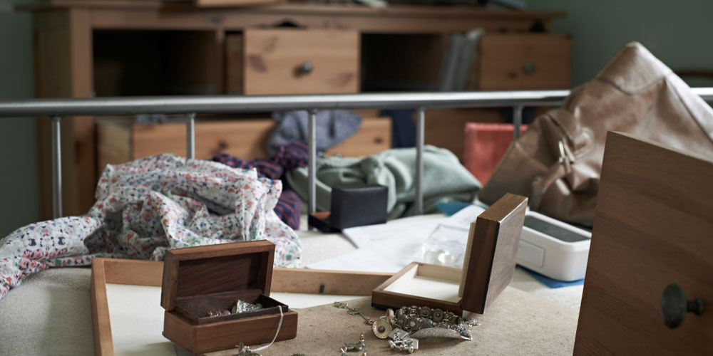 Ransacked Room Burglary