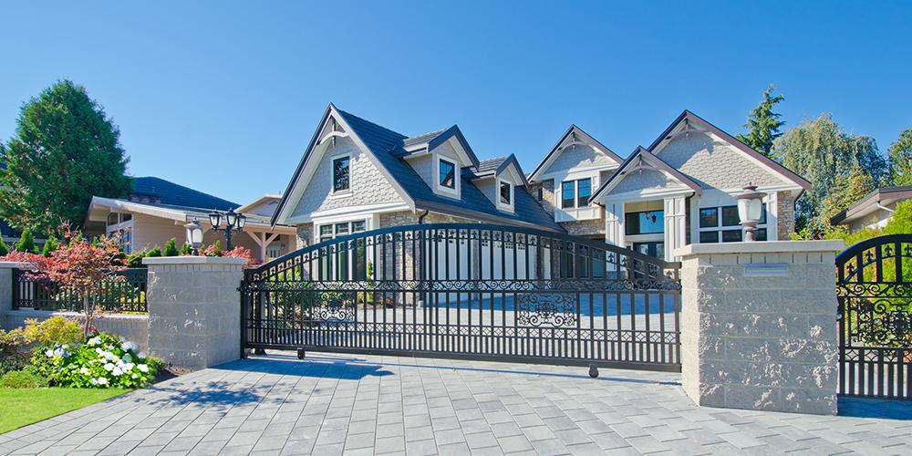 residential-gate