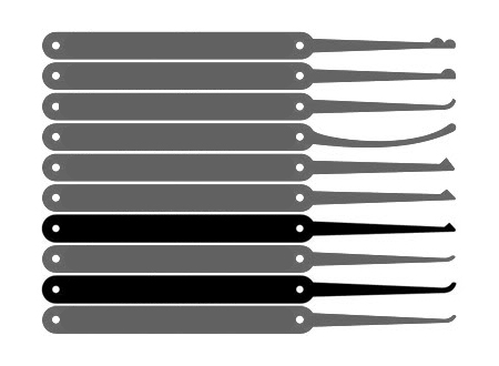 single-pin-picks