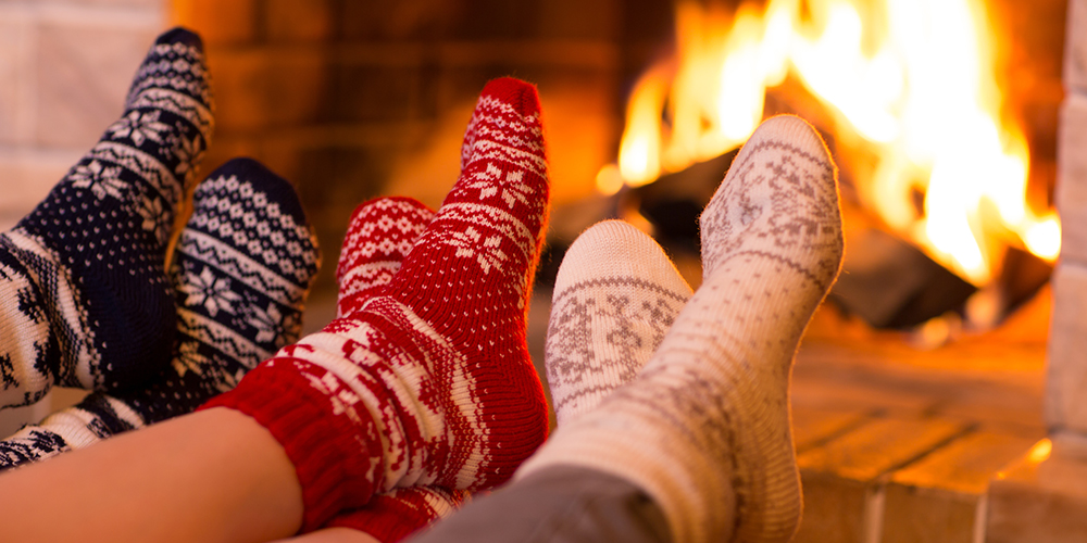 socks-by-the-fireplace