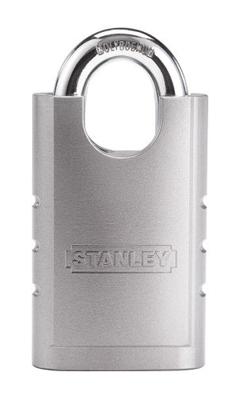 stanley hardened steel padlock