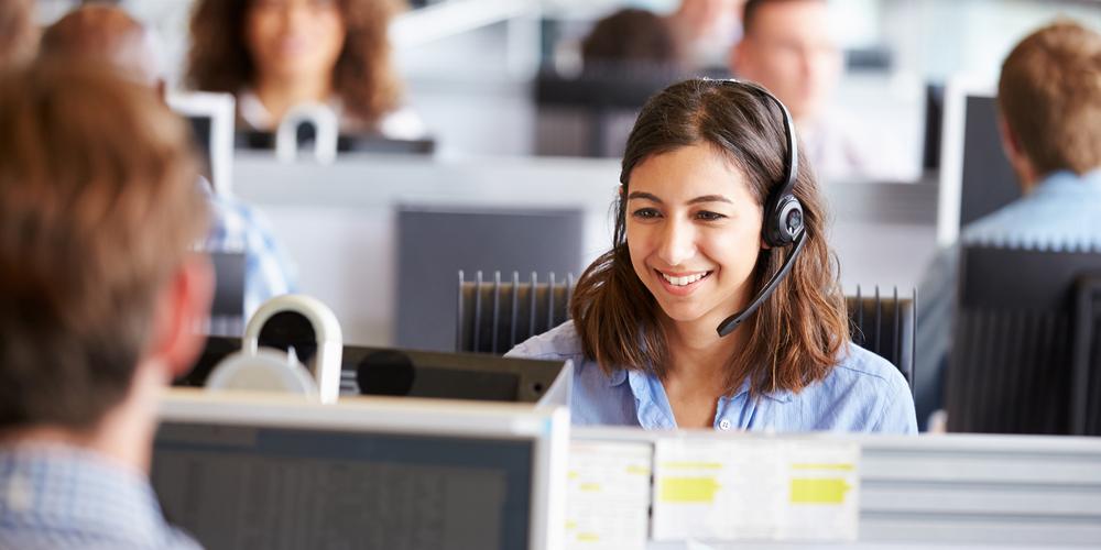 Telemarketer Call Center